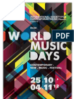 Malachevsky y Luna Procupez en el Festival WORLD NEW MUSIC DAYS 2012
