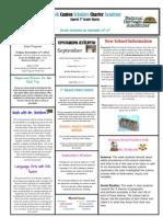 Newsletter 9-14-2012
