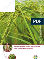 Platform Knowledge Piece 1__  Policy Coherence for Agricultural and Rural Development