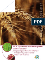 Platform Knowledge Piece 2__ Aid to Agriculture, Rural Development and Food Security