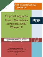 Proposal Jampersal