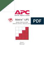 APC Matrix 5000