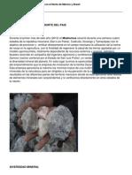 Efectos de La Harina de Rocas en El Norte de Mexico y Brasil