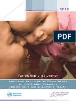 2012 Pmnch Report Full Publicaton