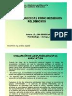 Presentación  Los Plaguicdas residuos tóxicos peligrosos