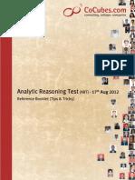 Analytical Reasoning Tips