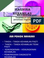 Askeb 1 Diagnosa kehamilan