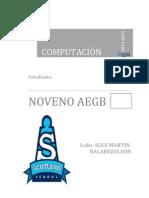 Alex Balarezo León - 9no-Computación Pagina 1 a 10