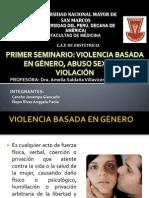 Violencia, Abuso Sexual y Violacion