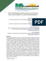 SiG e Geoprocesamento Buritizeiro Mg