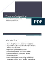 Endre Sik - Theory of Migration - Hungarians in the Austrian Labor Market