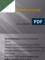 Aspek Gizi Hematopoieisis