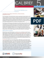Integrating Family Planning and HIV/AIDS Services Health Workforce Considerations