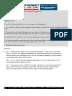 ICSE Class X Math Sample Papers