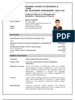 Marketing Sample Resume- Final