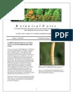 Botanical Notes 2