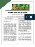 Botanical Notes 4