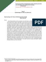 Epistemologia a ciência da informação revisitada