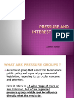 Pressure and Interest Groups (Media)