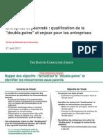 BCG-Entreprise Et Pauvrete