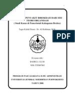 Makalah Patologi Birokrasi Brebes