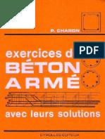 Livre-Exercices de Beton Arme Avec Leurs Solutions
