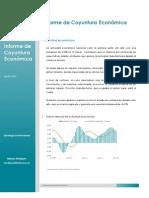 Informe de coyuntura económica- Agosto 2012