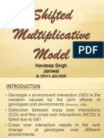 navdeep singh jamwal - Shifted Multiplicative Model