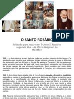O SANTO ROSÁRIO