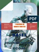 """Base Robot Seguidor Colegio """" I CONCURSO DE ROBOTICA (Corcytec 2012)"""""""