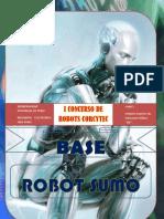 "Bases Robot Sumo ""I CONCURSO DE ROBOTICA (Corcytec 2012)"""