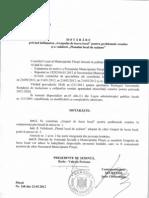 HCL 168-Privind Infiintarea Grupului de Lucru Local Pentru Problemele Romilor Si a a Validarii Planului Local de Actiune