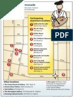2012 Gallery Promenade Map