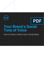 How to Develop Your Brand's Social Tone of Voice