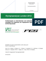 IAT Olympiaanalyse London 2012 Positionspapier