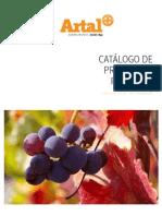 Catalogo de productos para la viña