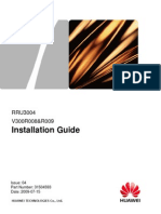 RRU Installation Guide