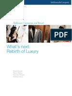 Rebirth of Luxury