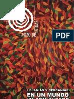 Revista Pozo de letras #10. Lejanías y cercanías en un mundo (in)comunicado
