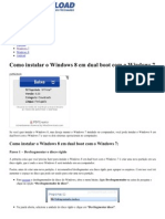 Como Instalar o Windows 8 Em Dual Boot Com o Windows 7 _ SoftDownload