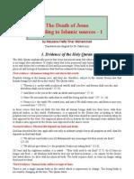 Der Tod Jesus Nach Koran