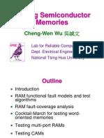 Chapter 5 (CWWU Memory Testing)