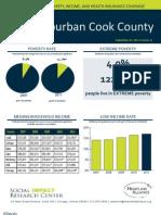 2011 Suburban Cook County Fact Sheet