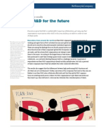 McKinsey Organizing RD for the Future
