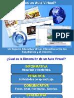 ¿Qué es un Aula Virtual?