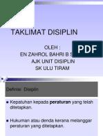 Taklimat Disiplin Skut 2012