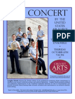 Unisted States Air Force Langley Winds Ensemble - 11 October 2012 in Crozet, Virginia