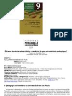 Ética na docência universitária  para imprimir 8 de 37 folhas