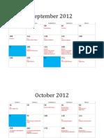 Geometry Calendar 2012-2013 P6