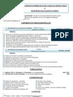 CV-BTS en mécanique et productique